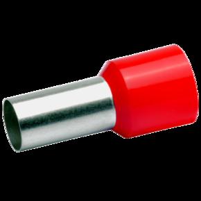 Втулочный изолированный наконечник Klauke 47925, 35 мм², длина втулки 25 мм, красный