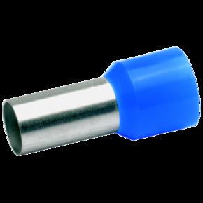 ВтулочныйизолированныйнаконечникKlauke 48025,50мм²,длинавтулки25мм,голубой