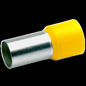 Втулочный изолированный наконечник Klauke 48121, 70 мм², длина втулки 21 мм, жёлтый