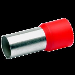 ВтулочныйизолированныйнаконечникKlauke 48225,95мм²,длинавтулки25мм,красный