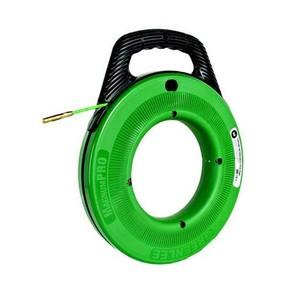 УЗК Greenlee 50357476 — Пластиковый барабан на подставке с лентой из стекловолокна для протяжки кабеля, 76 м, Ф 4,8 мм