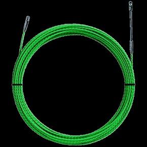 УЗК Greenlee 52055295 без корпуса, витой пруток, пониженное трение, полиэстер, 25 м × 4,5 мм