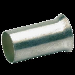 Втулочный неизолированный посеребренный наконечник Klauke 7825V, 10,0 мм², длина втулки 10 мм