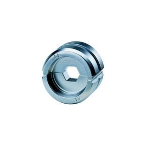 """Комплект в пластиковом кейсе Klauke A22SET: 10 матриц серии """"22"""" для алюминиевых наконечников 10–300 мм²"""