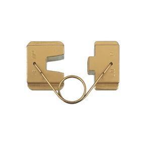 """Матрица Klauke AE10 серии """"18"""" для втулочных наконечников 10 мм², трапеция"""