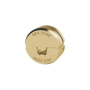"""Матрица Klauke AES22120серии""""22""""длявтулочныхнаконечников120мм²длякомпактныхжил5–6кл.,спец.трапеция"""