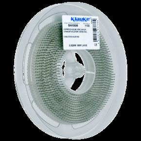 Изолированный втулочный наконечник Klauke BAK9698, 0,5 мм², для втулки 8 мм, белый, в рулоне, в упаковке 1100 шт.