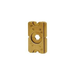 """Комплект в пластиковом кейсе Klauke HR5SET: 8 пресс-матриц серии """"5"""" для медных трубчатых облегченных наконечников 6–240 мм²"""