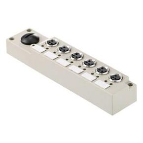 Концентратор M12 сигналов пассивный распределитель (С разъемом M12) SAI/6/S/3P/M8/L/SL