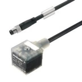 Клапанный штекер вилка прямая A SIL/VS/M8G/3/1.5U