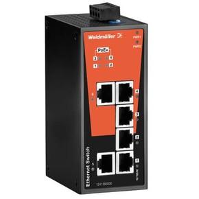 Коммутатор сетевой неуправляемый IE/SW/BL06/2TX/4POE