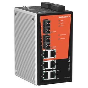 Коммутатор сетевой управляемый IE/SW/PL08MT/6TX/2ST