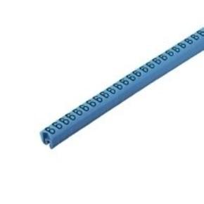 Маркировка кабеля CableLine 4-10мм (4x7мм, синий) CLI/C/2/4/BL/WS/6/CD