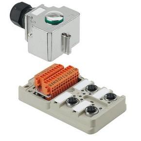 Концентратор M12 SAI (пассивный распределитель) SAI/4/MHD/5P/M12