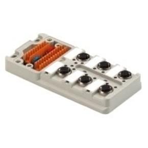 Концентратор M12 SAI (пассивный распределитель) SAI/6/M/5P/M12/UT