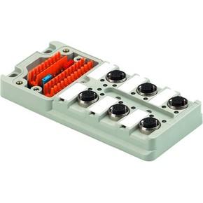 Концентратор M12 SAI (пассивный распределитель) SAI/6/M/4P/M12/UT