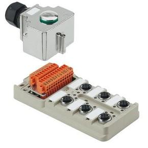 Концентратор M12 SAI (пассивный распределитель) SAI/6/MH/4P/M12