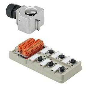Концентратор M12 SAI (пассивный распределитель) SAI/6/MHD/4P/M12