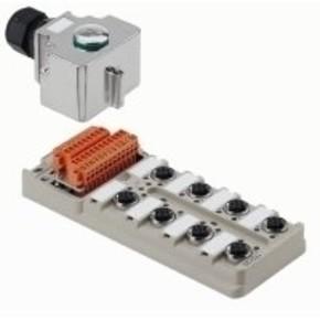 Концентратор M12 SAI (пассивный распределитель) SAI/8/MH/4P/M12