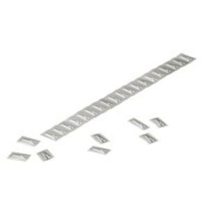 Маркировка кабеля Маркировочные элементы из нержавеющей стали 5.5x9.9мм (серебряный) WSM/10/X