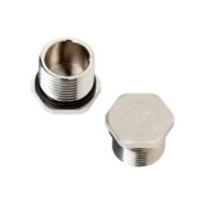 Заглушка VP 21-EXE MS, никелированная латунь, 15 мм