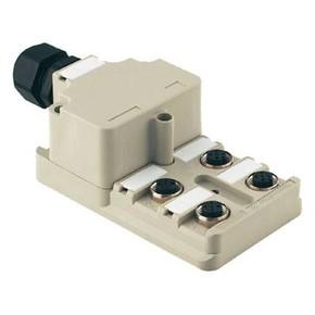 Концентратор M12 SAI (пассивный распределитель) SAI/8/M/5P/M12/OL