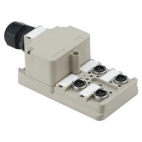 Концентратор M12 SAI (пассивный распределитель) SAI/4/M/3P/IDC