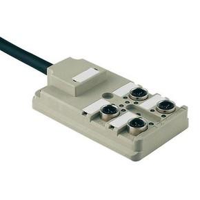 Концентратор M12 SAI (пассивный распределитель) SAI/4/F/3P/IDC/PUR/5M
