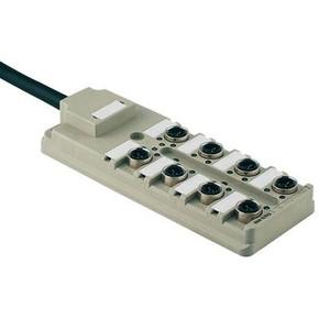 Концентратор M12 SAI (пассивный распределитель) SAI/8/F/3P/IDC/PUR/5M