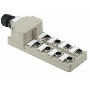 Концентратор M12 SAI (пассивный распределитель) SAI/8/M/4P/IDC