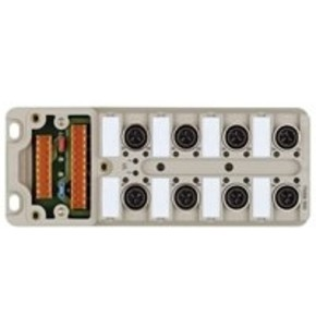 Концентратор M12 SAI (пассивный распределитель) SAI/8/M/4P/IDC/UT