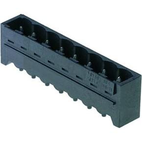 Штырьковый соединитель (бок открыт) 5.08 mm SL/SMT/5.08HC/04/180/1.5SN/BK/BX