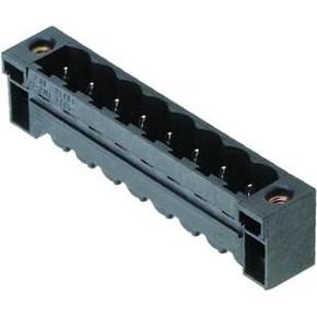 Штырьковый соединитель (фланец под пайку) 5.08 mm SL/SMT/5.08HC/09/180LF/1.5SN/BK/BX