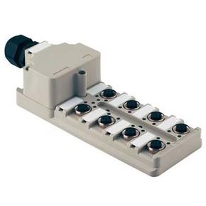 Концентратор M12 SAI (пассивный распределитель) SAI/8/M/5P/M12/NPN