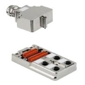 Концентратор M12 SAI (пассивный распределитель) SAI/4/MM/5P/M12