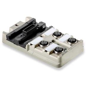 Концентратор M12 SAI (пассивный распределитель) SAI/4/MMS/5P/M12