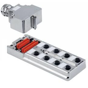 Концентратор M12 SAI (пассивный распределитель) SAI/8/MMS/4P/M12