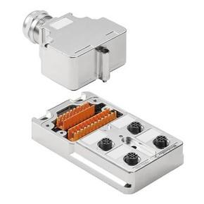 Концентратор M12 SAI (пассивный распределитель) SAI/4/MMS/4P/M12