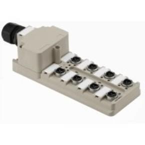 Концентратор M12 SAI (пассивный распределитель) SAI/8/M/4P/IDC/PE
