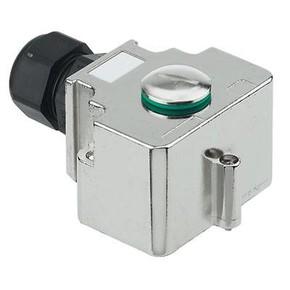 Концентратор M12 сигналов пассивный распределитель (Вариант с крышкой) SAI/4/M/5P/M12/1/1/MHZF