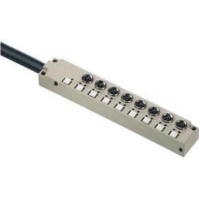 Концентратор M8 SAI (пассивный распределитель) SAI/8/F/4P/M8/L/10M