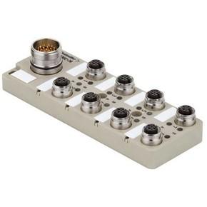 Концентратор M12 сигналов пассивный распределитель (M12) SAI/8/S/4P/FC
