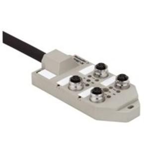 Концентратор M12 сигналов пассивный распределитель (M12) SAI/4/F/5P/FC/10M/GR