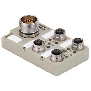 Концентратор M12 сигналов пассивный распределитель (M12) SAI/4/S/4P/FC/1993