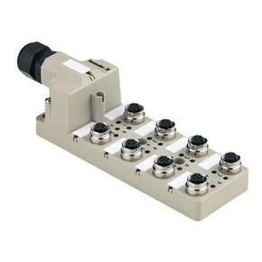 Концентратор M12 сигналов пассивный распределитель (M12) SAI/8/M/5P/FC