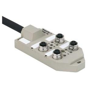 Концентратор M12 сигналов пассивный распределитель (M12) SAI/4/SH/5P/FC