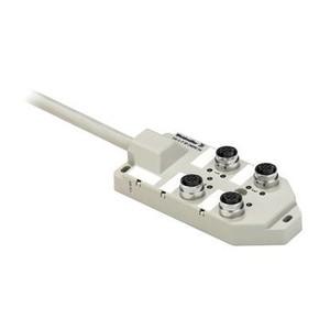 Концентратор M12 сигналов пассивный распределитель (M12) SAI/4/F/5P/CNOMO/5M