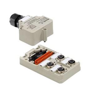 Концентратор M12 сигналов пассивный распределитель (Вариант с крышкой Ex) SAI/4/M/4P/Exi/Z1/IL