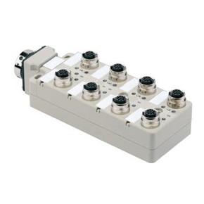 Концентратор M12 сигналов пассивный распределитель (M12) SAI/8/SHB/5P/FC