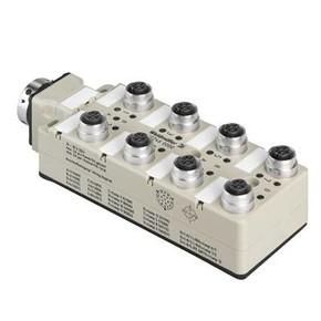 Концентратор M12 сигналов пассивный распределитель (M12) SAI/8/SHB/5P/F13/FC